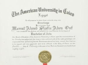 AUC Bachelor of Arts